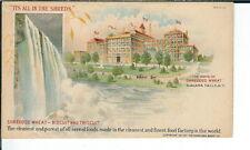 AY-252 - Shredded Wheat Nabisco 1901-1907 Undivided Back Advertising Postcard