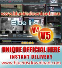 Blue Iris Pro v5.x (Latest) Video Camera Security Software - Full License Life