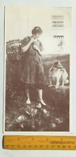 X LARGE IRISH POSTCARD,GIRL FROM THE MOUNTAINS,CO DONEGAL,,IRELAND