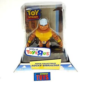 *Ultra Rare* Toy Story Movie Collectibles ROCKY GIBRALTAR figure Mattel Disney