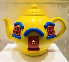 Bluebird Vintage 1981 Big Yellow Teapot