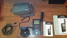Garmin GPS 75 Set with Owners Manuals Accessories Original Bag Marine or Land