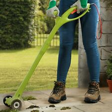More details for garden gear 140w electric weed sweeper moss remover grass patio cleaner tool new