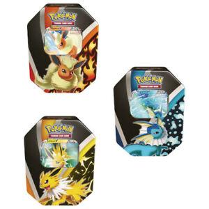 Pokemon TCG - Eevee Evolutions Fall V Tin (Vaporeon, Jolteon, Flareon) PKM