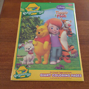 Disney My Friends Tigger & Pooh Giant Coloring Pages New