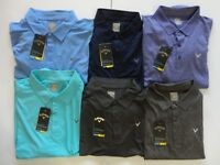 NWT Callaway Short Sleeve Polo opti-dry UPF opti-shield Retail $65