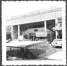 VINTAGE 1962 MERCADO MACLOVIO HERRERA NUEVO LAREDO MEXICO COCA COLA SIGNS PHOTO
