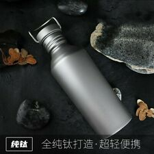 820mL Pure Titanium Water Bottle Cup Drinking Ware for Outdoor Camping