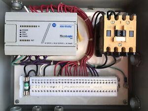 Allen Bradley 1761-L16AWA Series D MicroLogix 1000 (Warranty) W/ Enclosure Box