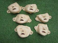 lot de 6 Masques de visage pour mannequin Resusci JUNIOR - LAERDAL -