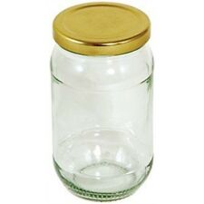 454g 16oz Round Preserving Jar With Gold Screw Top Lid - Tala