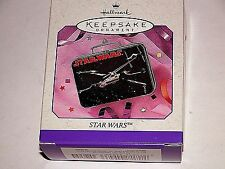 NEW Hallmark Keepsake Ornament Star Wars Lunch Box Pressed Tin 1998