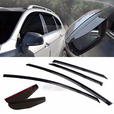 Smoke Window Vent Visors Side Mirror Rain Guard 6P For CHEVROLET 2006-17 Captiva