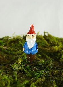 "Dollhouse Miniature Fairy Garden Terrarium Tiny 3/4"" tall Micro Gnome, 17200"