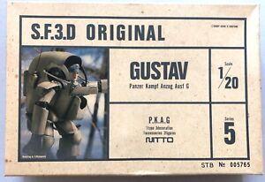 Nitto Maschinenkrieger Ma.K. S.F.3.D. Gustav PKA G 1:20 Series 5 Original Kow