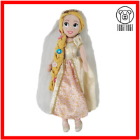 Disney Soft Toy Rapunzel in Wedding Bride Dress Tangled Plush Princess Character