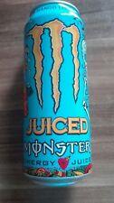 1 plena Energy Drink lata 500ml Monster Juiced loco mango UK full can coca cola