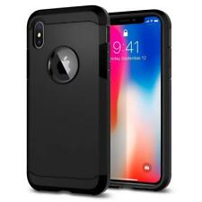 Black Armor Case for Apple iPhone XR Hybrid Luxury Back Cover