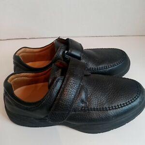 Dr. Comfort Scott Mens Orthopedic Diabetic Strap Oxfords Shoes US Sz 9.5w