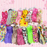 10 pcs  Beautiful Handmade Party Clothes Fashion Dress for  Doll FashionEF