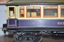 1-Spur 1 gauge 1 RHEINGOLDWAGEN Mitropa Original Märklin 26 cm  neu lackiert