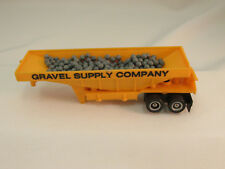 TYCO #3925 GRAVEL SUPPLY COMPANY TRAILER W/ ROCKS ~ GOOD PIN ~ VN-EXC COND!