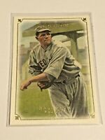 2007 UD Masterpieces Baseball Base Card #22 - Babe Ruth - Boston Red Sox