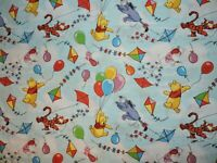 Winnie The Pooh Balloon Disney 100% Cotton Fabric 27 Inches