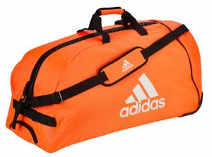 "adidas Trolley ""martial arts"" red/silver Nylon, Sport, Freizeit,Urlaub, Fitness,"
