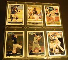 2008 RAZOR > MIKE STANTON (Pre-RC) + 2012 Bowman Chrome GREG BIRD (RC)+4 Yankees