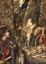 A4 Foto los cuentos de hadas de los hermanos Grimm 1909 8 impreso Poster