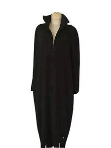 GALANOS Long Dress Retro Crepe Legend Look  Size M/L