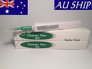 One Click Cleaner Pen SC,ST,FC 2.5mm FTTH 800 Cleans Fiber clean NBN Transfield