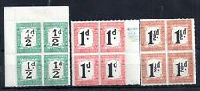 South Africa Postage Dues in mint blocks WS13361