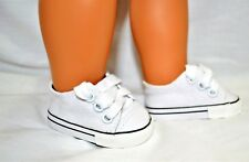 "Our Generation American Girl Doll 18"" Dolls Clothes Shoes White Sneaker Runners"