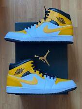 Nike Jordan 1 Mid University Gold (554724-170) NEU DSWT