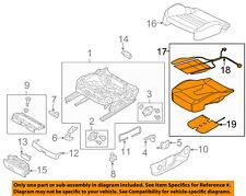 AUDI OEM 15-16 A3 Front Seat Bottom-Foam Cushion Pad Insert Right 8V0898522F