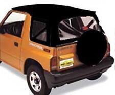 Suzuki Samurai Soft Top 86-94 OEM Replacement Black Denim Smittybilt 98715