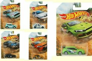 Hot Wheels Rally Series 1:64 Scale Backroad Die-cast Car Choice of 5 Models