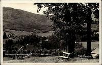 Lázně Libverda Bad Liebwerda Tschechien Česká 1939 Panorama Landschaft Wald Dorf