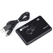 125KHz USB RFID Contactless Proximity Sensor Smart ID Card Reader EM4100 + Cable