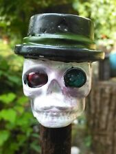 Red Crystal Ball - Skull - Heavy Metal - Staff/Cane/Walking Stick