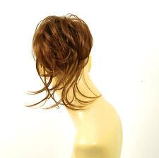 postiche chouchou chignon cheveux châtain doré cuivré ref: 22 en 30