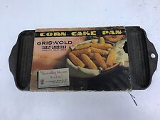 GRISWALD CORN CAKE CAST IRON PAN#273/930B 0RIG.PACKAGING