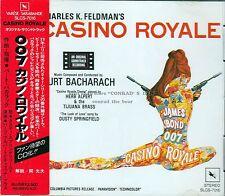 """Burt Bacharach """"CASINO ROYALE"""" soundtrack score Japan SLC CD out of print"""