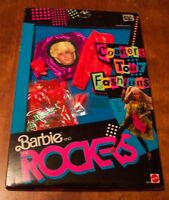VINTAGE Barbie and the Rockers 1986 CONCERT TOUR FASHIONS OUTFIT IN BOX NEW