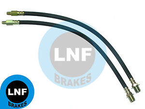 FORD F100 1/2 Ton PICKUP F250 3/4Ton BRAKE HOSE FRONT PAIR 1961 1962 1963 1964