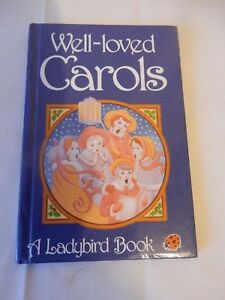 Vintage Ladybird Well Loved Carols Series 8818 Christmas VGC  Likely 1st 1988
