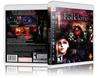Folklore Replacement PS3 Cover and Case. NO GAME!!