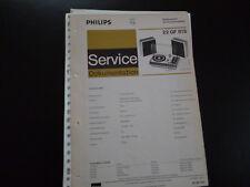 Original Service Manual Philips 22GF815